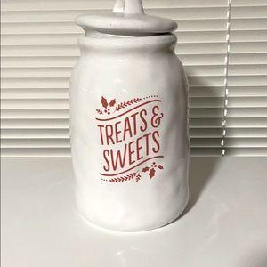 Hallmark treats and sweets cookie jar